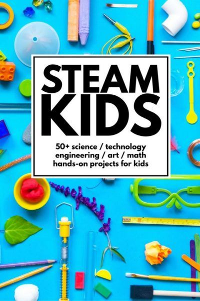 One Year of STEAM Projects for Kids | Stem projects and Math
