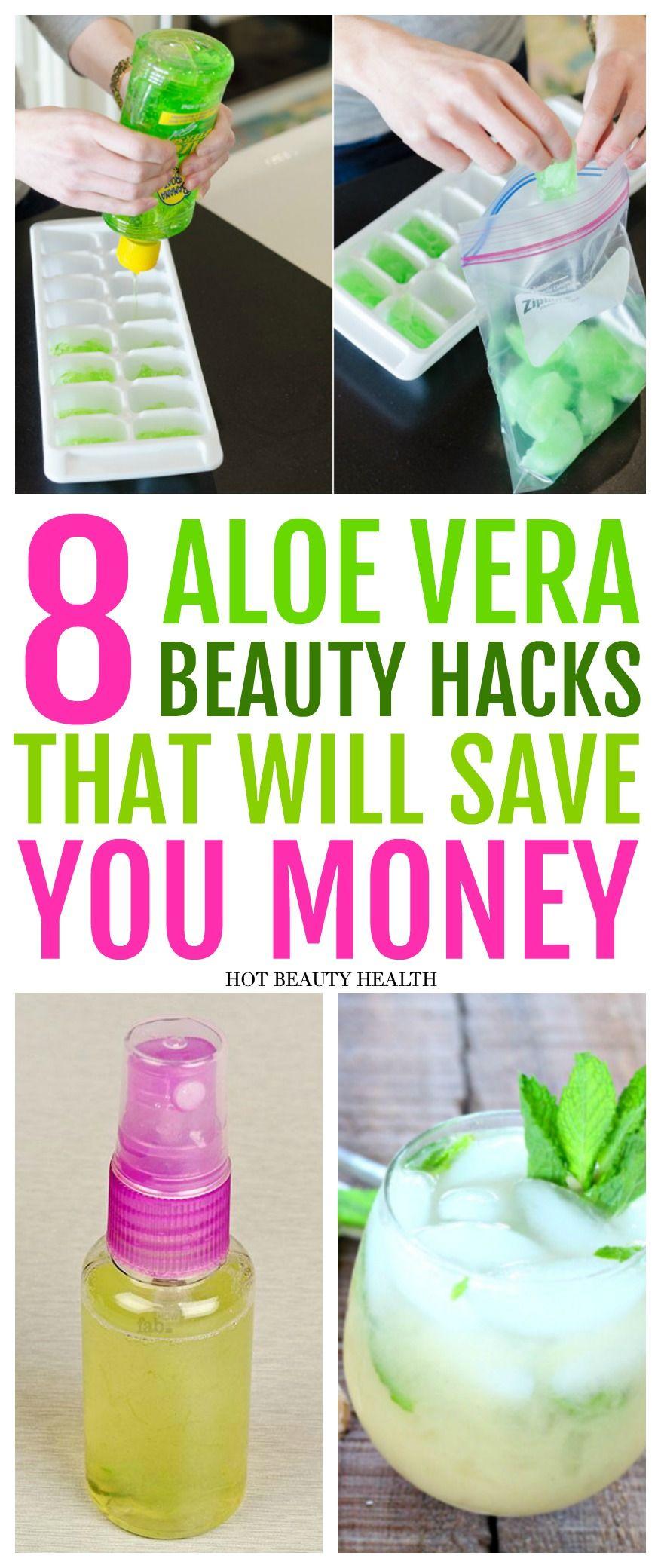 12 Aloe Vera Beauty Hacks That Will Save You Money - Hot Beauty