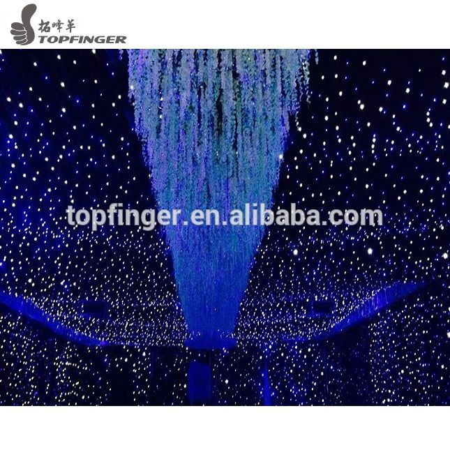 Cheap price led star curtain, white or black led star