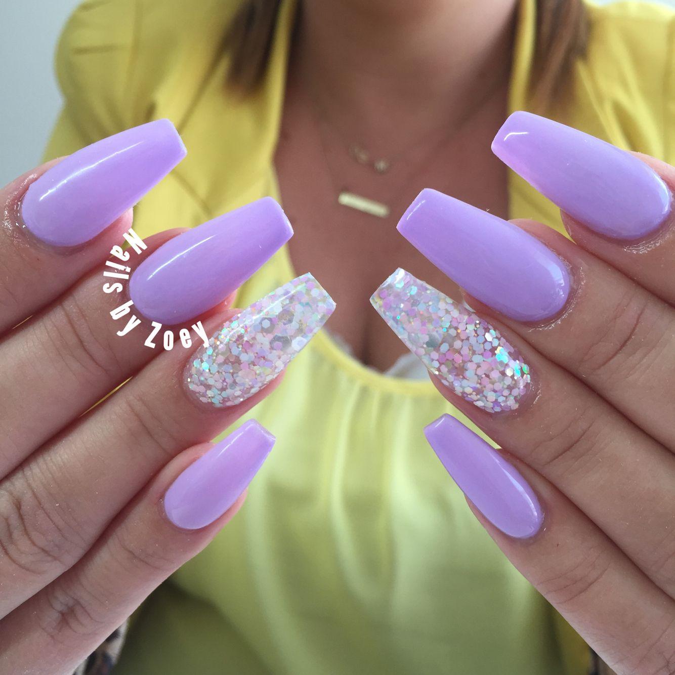Purple Nails Gel Acrylic Purple Acrylic Nails Purple Nails Purple Nail Designs