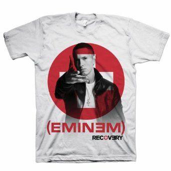 T SHIRT S-M-L-XL-2XL New Official Bravado Merchandise EMINEM On The Mic