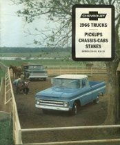 1966 Chevrolet Pickup Chassis-Cab Stake Series C10-30 K10-20 brochure // Description 8 1/2 x 10 1/4, 12-page color illustrated brochure. Dimensions given, if any, are approximate. VG or better condition. Defects not visible in scan[s] are described. Item is complete as issued unless otherwise stated. NO facsimiles, copies, reprints or reproductions unless specifically stated in description above.// read more >>> http://Redmond381.iigogogo.tk/detail3.php?a=B00NTNHOYU