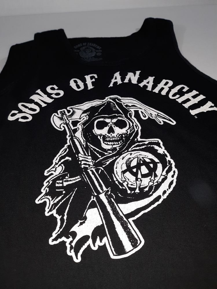 0cb7a0f4 Sons Of Anarchy SAMCRO Black Tank Top Size XL #fashion #clothing #shoes  #accessories #mensclothing #shirts (ebay link)
