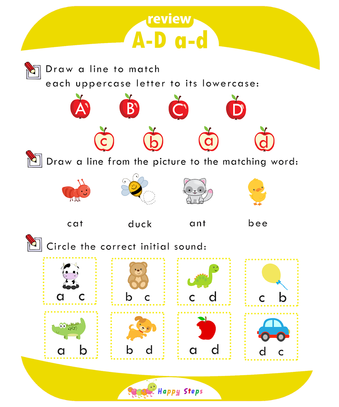 Activity Worksheet 3 Letter I