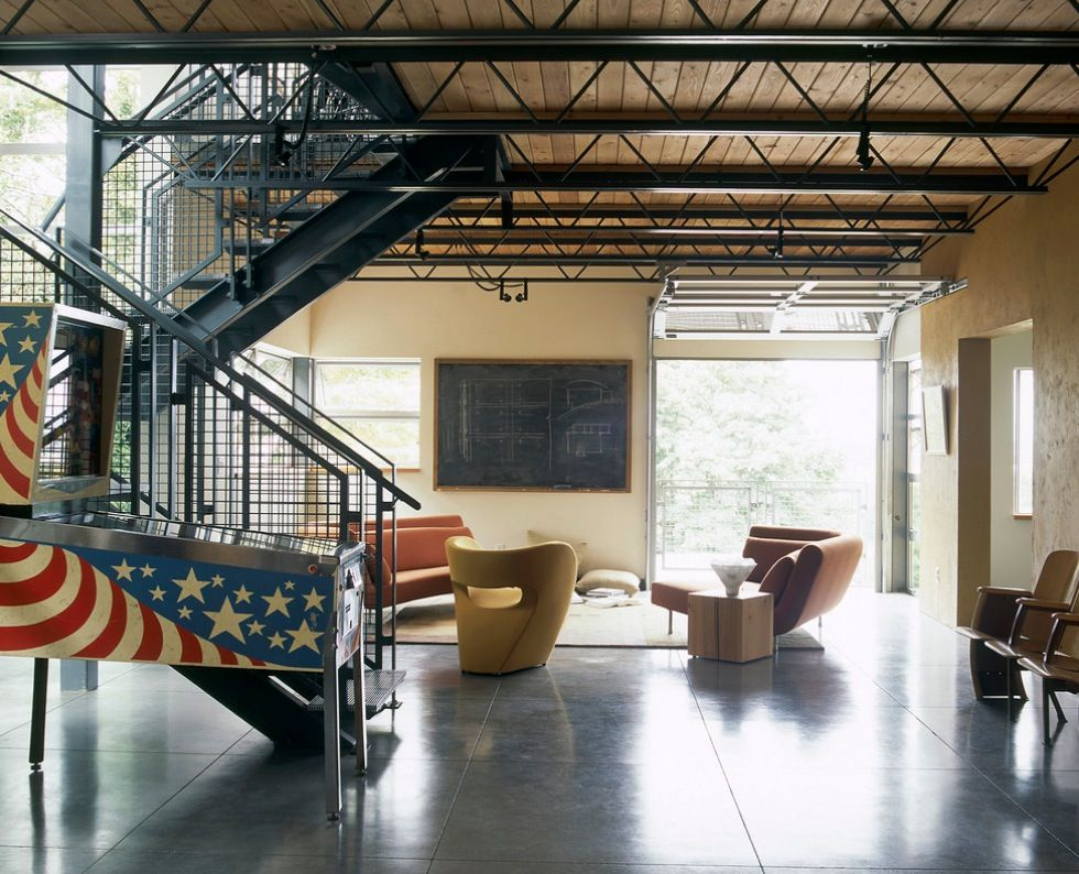 Industrial Home Details Garage Doors 10 Ways To Transform Your Interiors  With Industrial Style Details