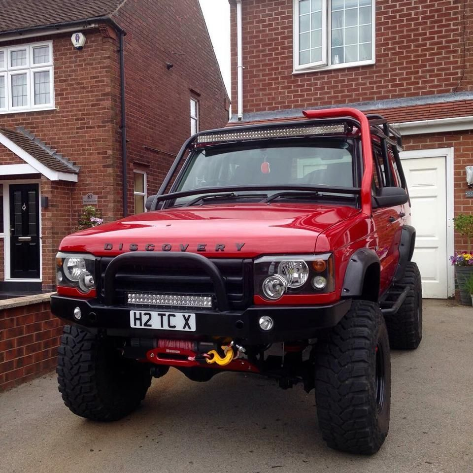 Front Winch Bumper Land Rover Discovery I Bluelakeoffroad: I Like The Winch Mounted Under The Bumper, It Gives It A