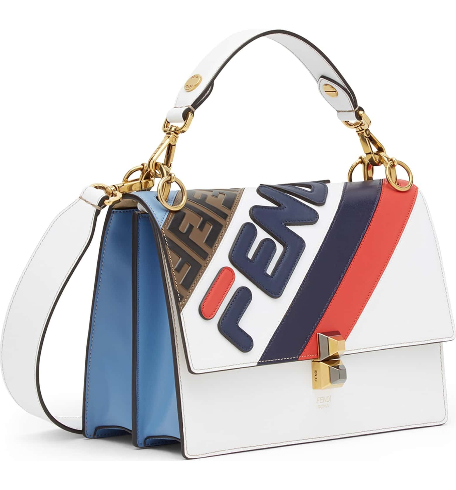c9131e71d3 x FILA Kan I Mania Logo Shoulder Bag