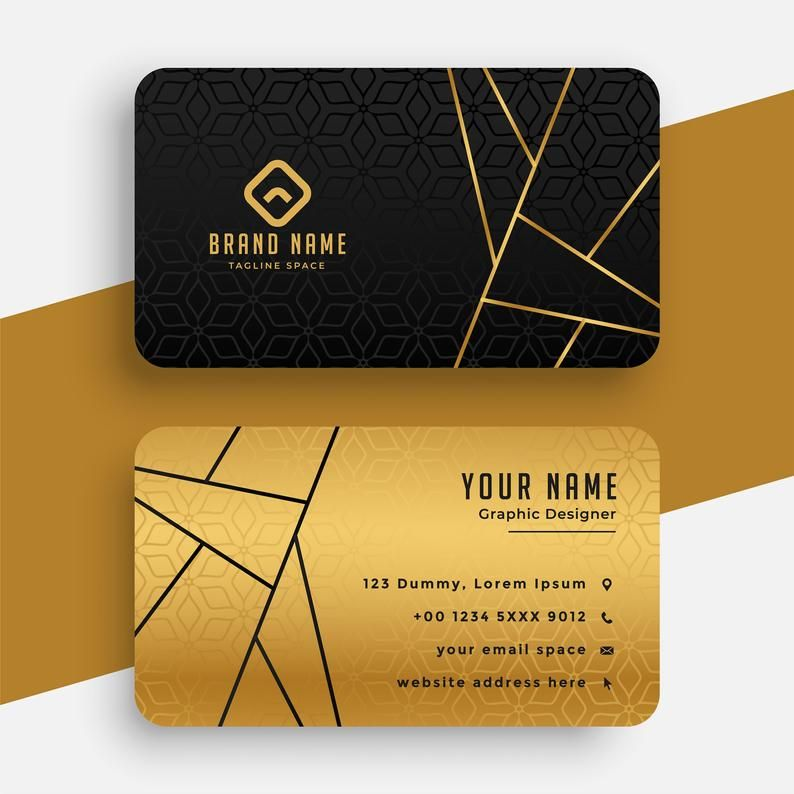 Black Gold Business Card Template Editable Printable Etsy In 2021 Gold Business Card Luxury Business Cards Modern Business Cards