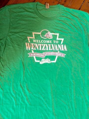 b790f6af5 Carson Wentz Wentzylvania Eagles Tee