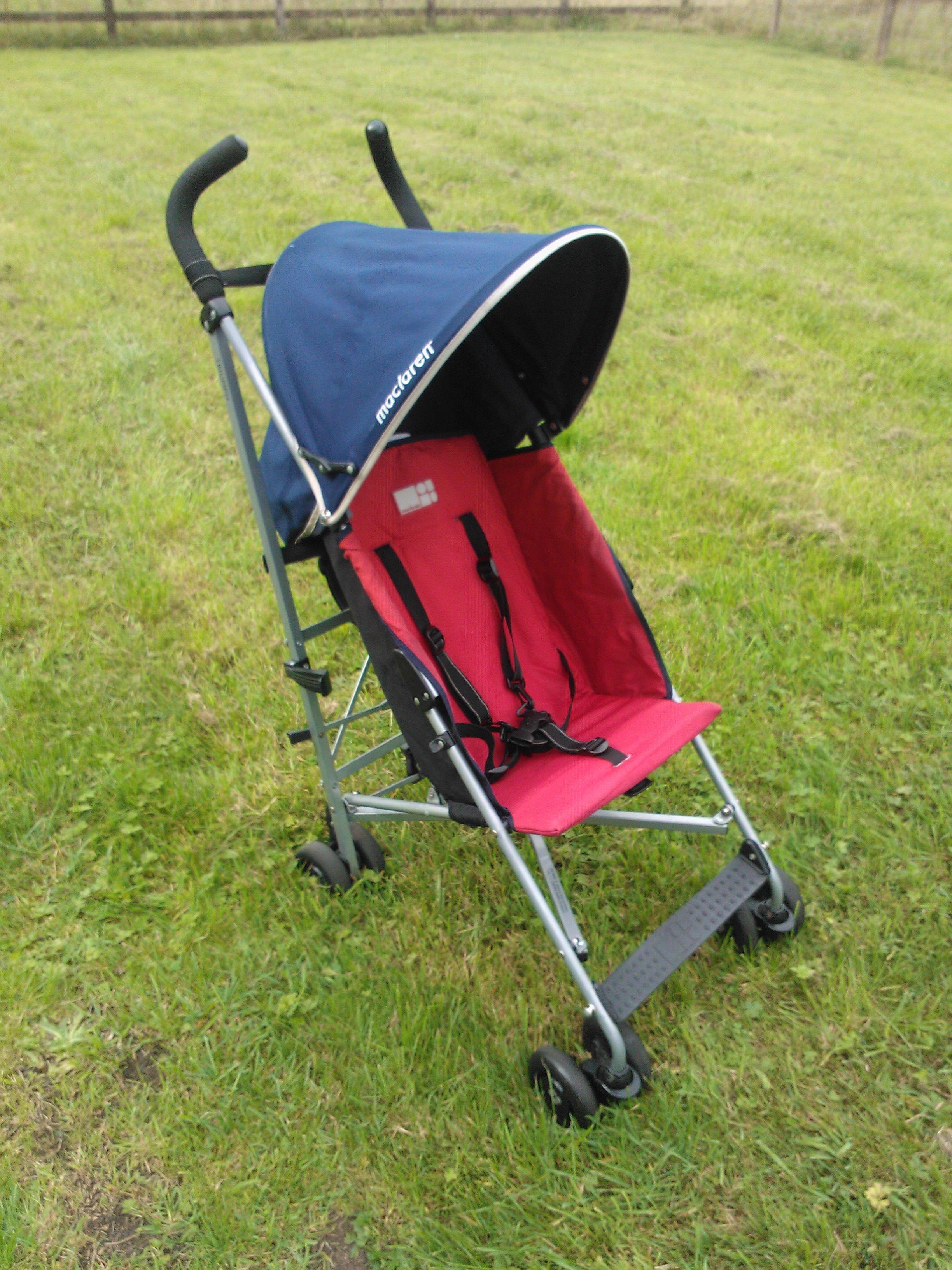 Maclaren Triumph Pushchair + rain cover £26 Baby