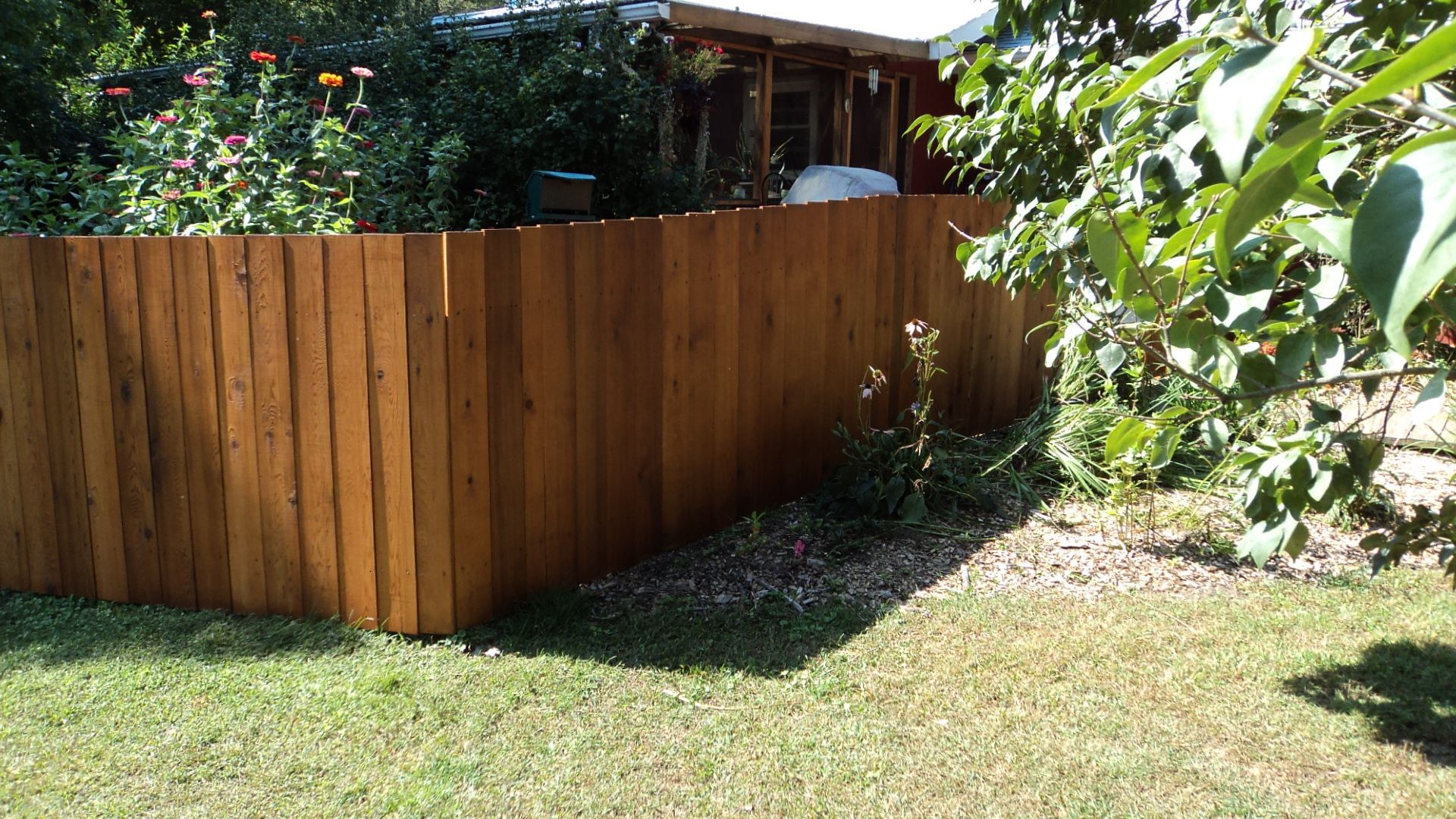 Cedar Privacy Fence 2 Wood Fence Styles Pinterest