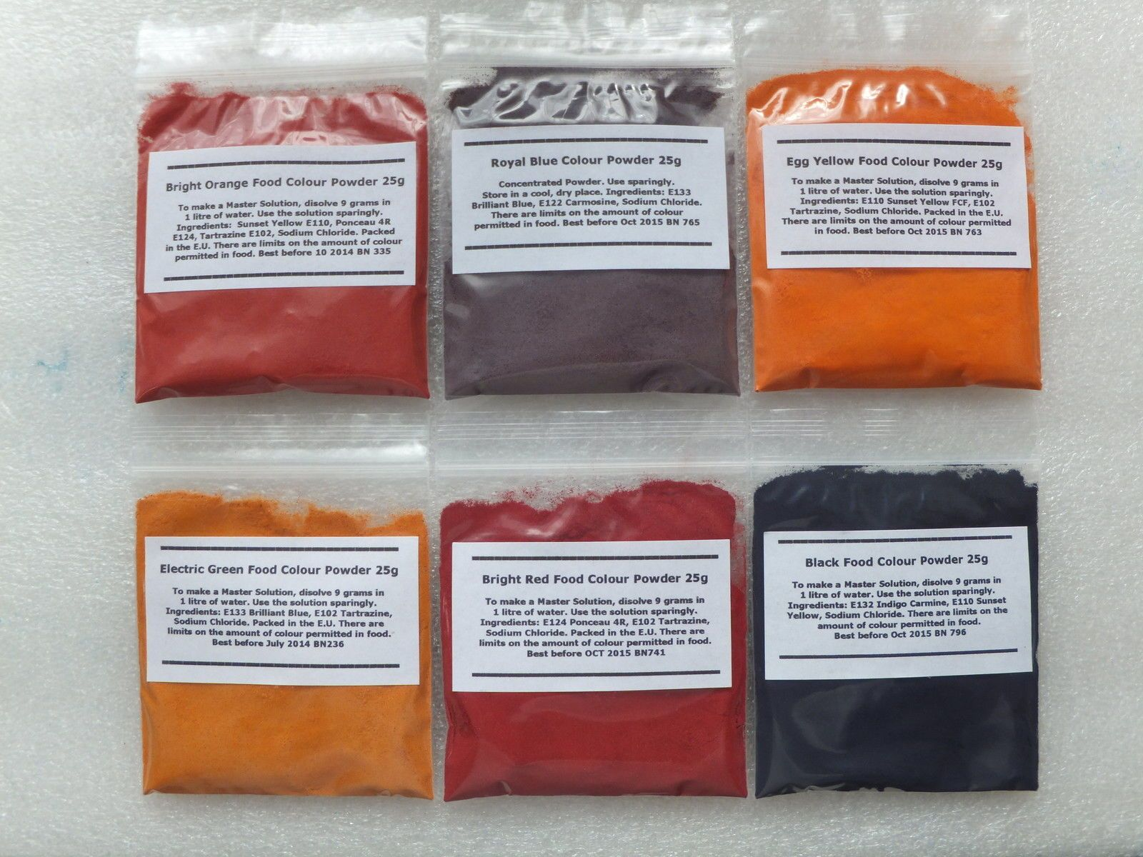 Food Colouring Powder Concentrated 25g All Colours And Black Water Soluble Color Check More At Https Lazidoshop Com Product Food Colouring Powder Concentrated