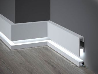 Listwa Oswietleniowa Led Mardom Decor Ql019 Ql021 Decor Disenodedormitorio Led Lighting Design Interior Led Light Design Interior Lighting