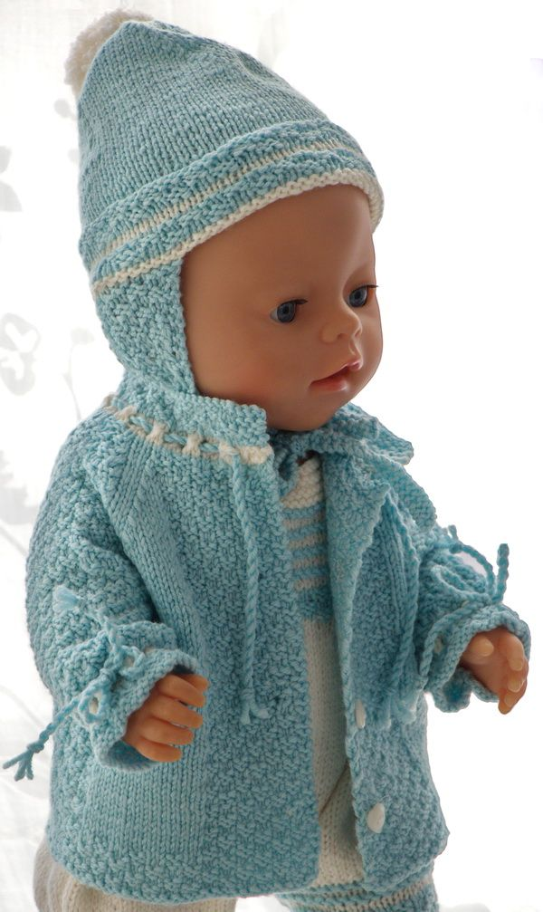 Baby Doll Clothes Knitting Patterns Baby Born Pinterest Baby