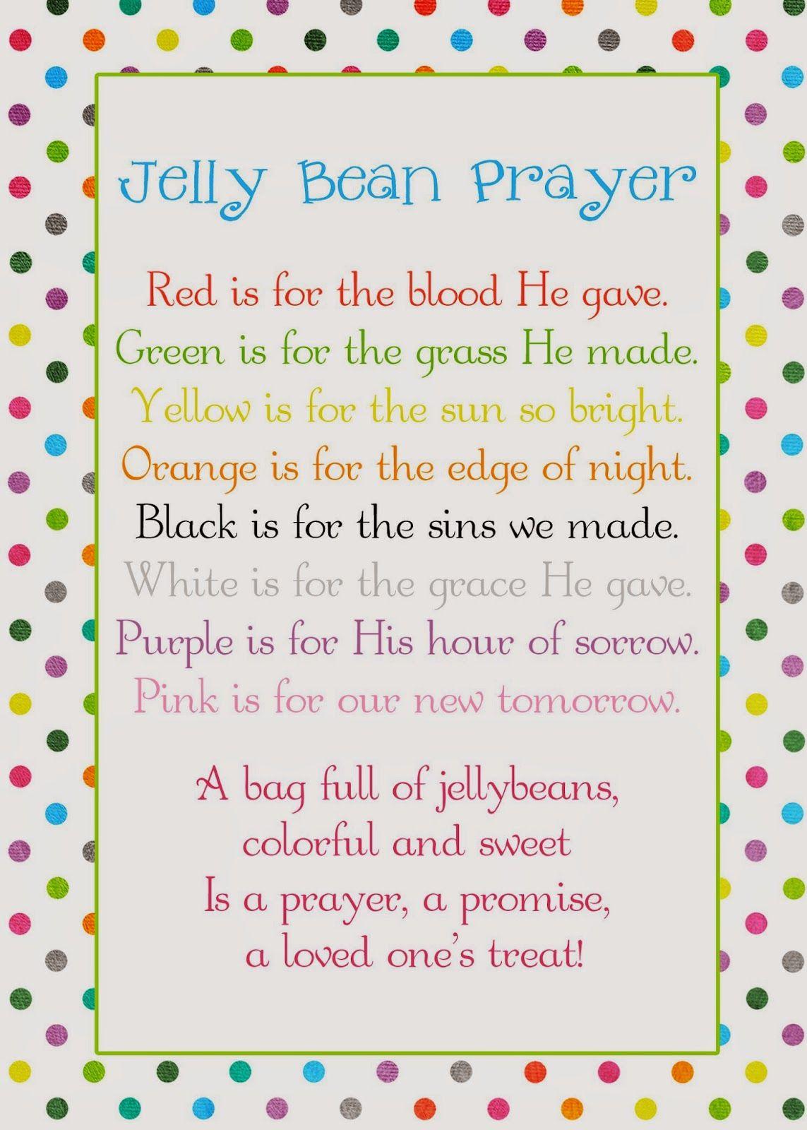 A pocket full of lds prints jelly bean prayer poem easter freebie a pocket full of lds prints jelly bean prayer poem easter freebie negle Choice Image