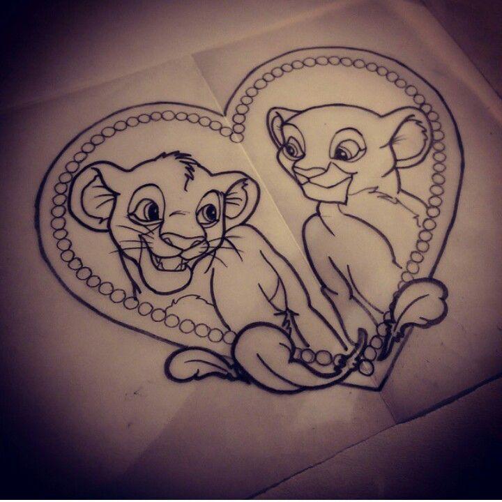the lion king tattoo tattoo ideas pinterest dessin. Black Bedroom Furniture Sets. Home Design Ideas