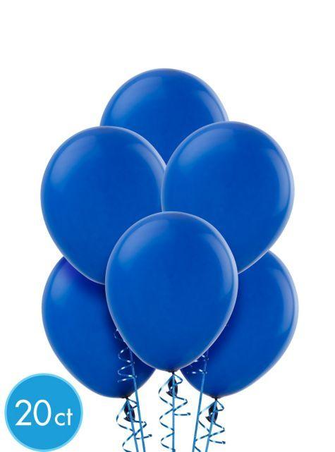 Royal Blue Balloons 20ct