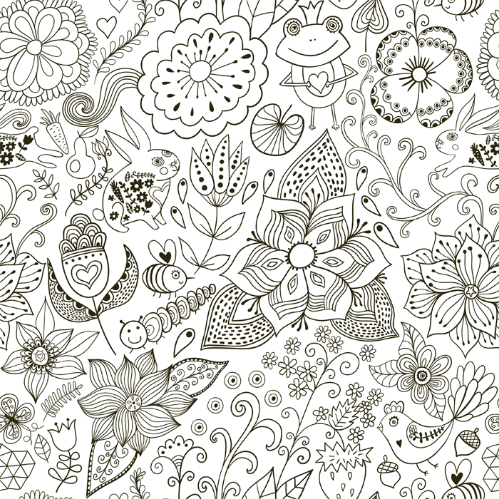 How to Create Your Own Coloring Pages | Pinterest | Unique, Create ...