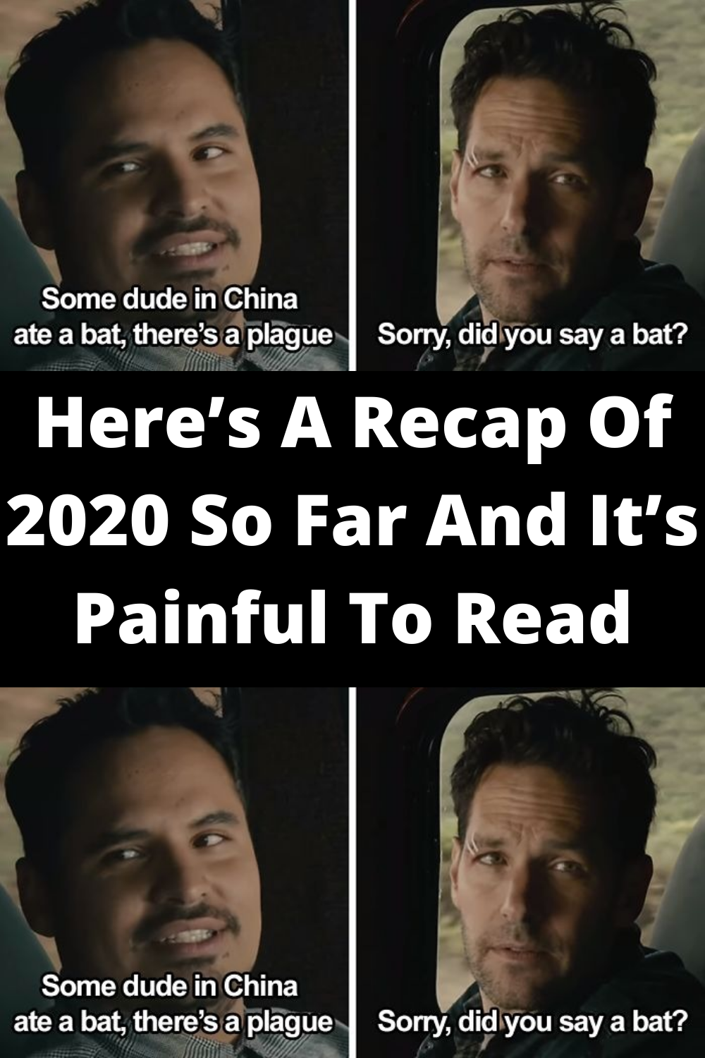 Here S A Recap Of 2020 So Far And It S Painful To Read Wtf Funny Best Joker Quotes Humor