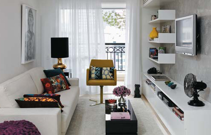 Room Small Narrow Apartment Living