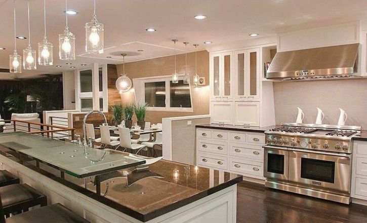 Kitchen island trends 2015 google search home away for Beautiful kitchens