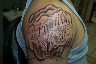 Family First Tattoo Design On Ribs In My Life Family Come First Family First Tattoo Family Tattoos Mens Shoulder Tattoo