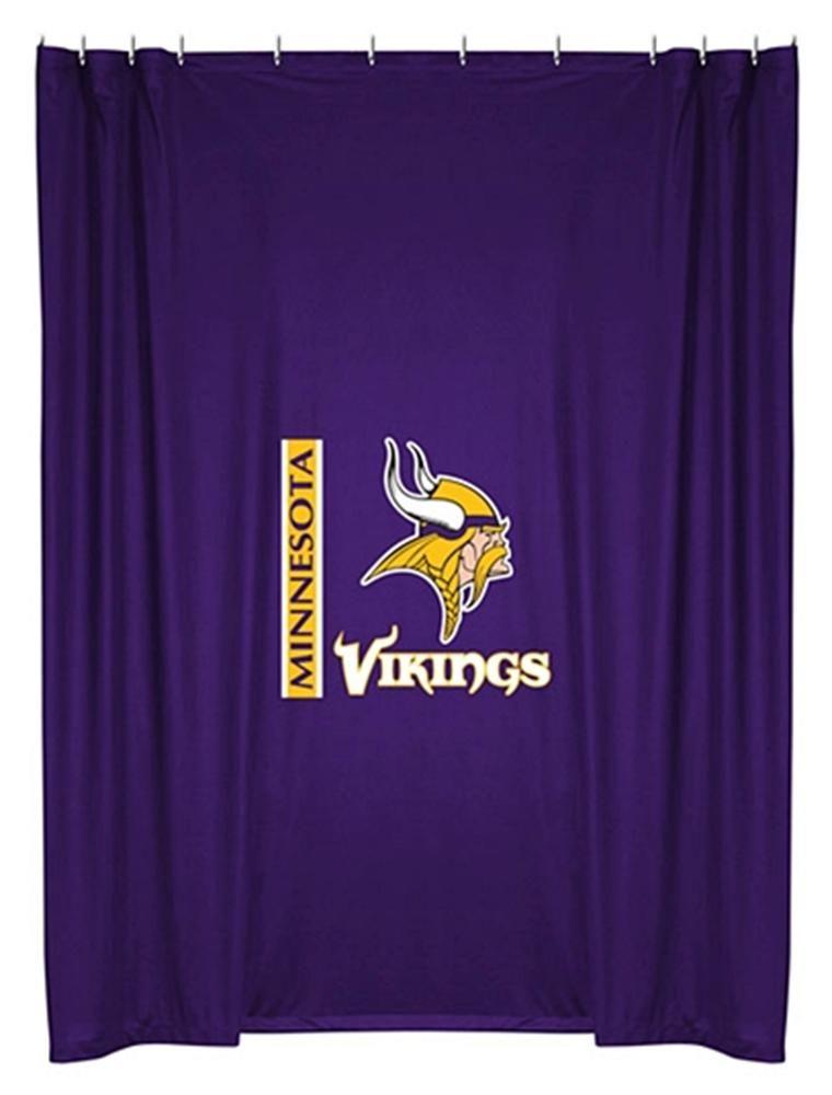Minnesota Vikings Bath Towel Set All Teams Available Great: Minnesota Vikings Shower Curtain