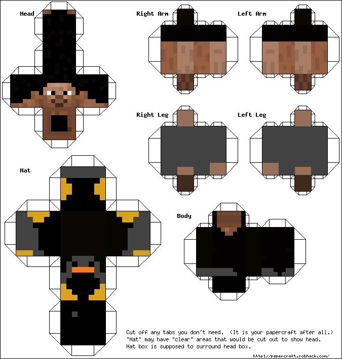 Printable Minecraft Paper Crafts