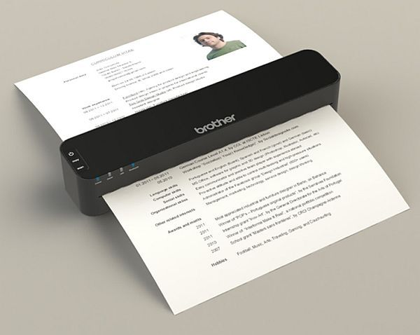 myBrother all in one device to scan, copy and print data