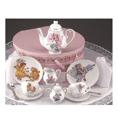 Flower Fairy Tea Set
