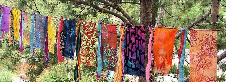 Gypsy Caravan Prayer Garden Flag Garland Hippie Boho Decor