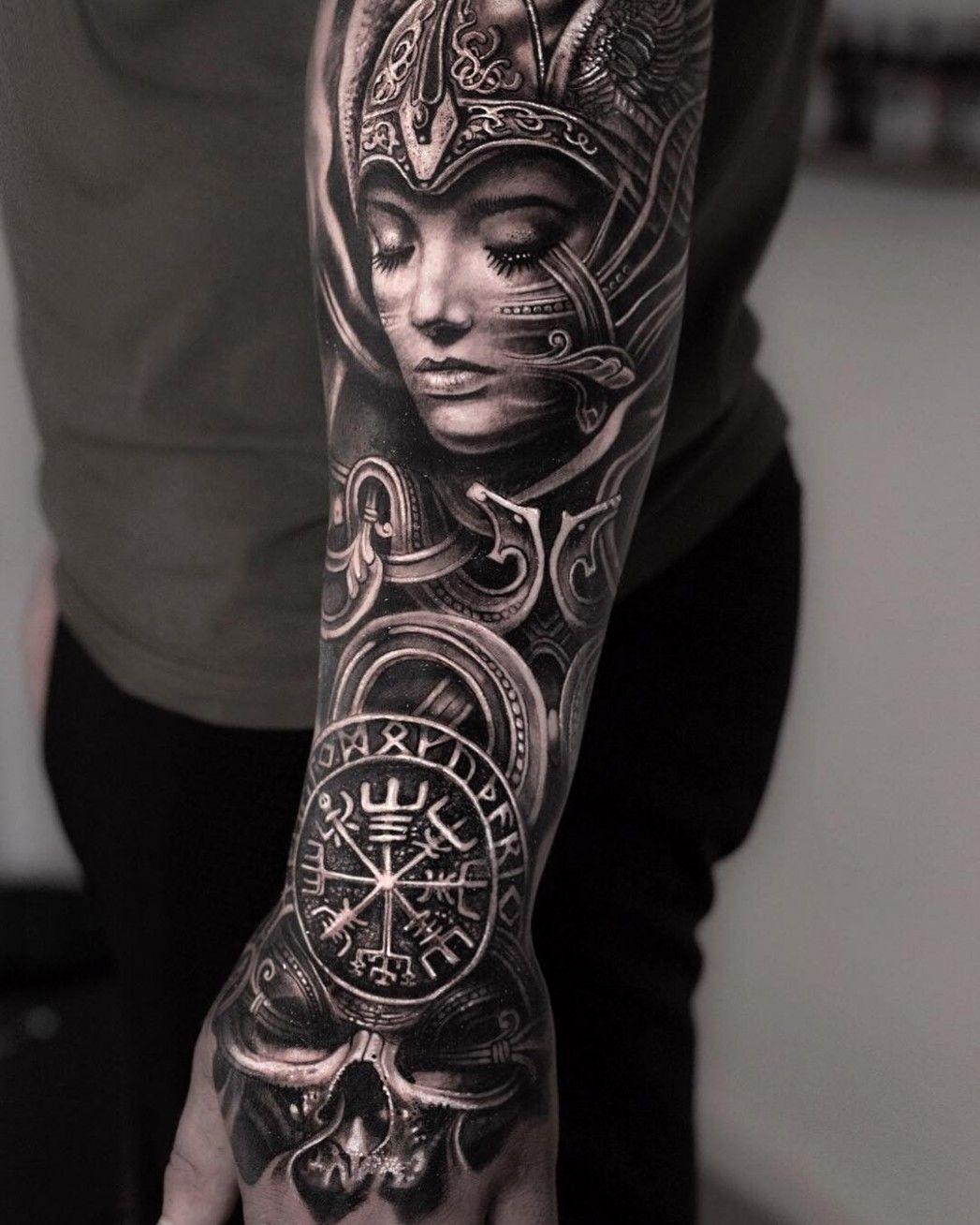Small Rib Cage Tattoos For Women Viking tattoo sleeve