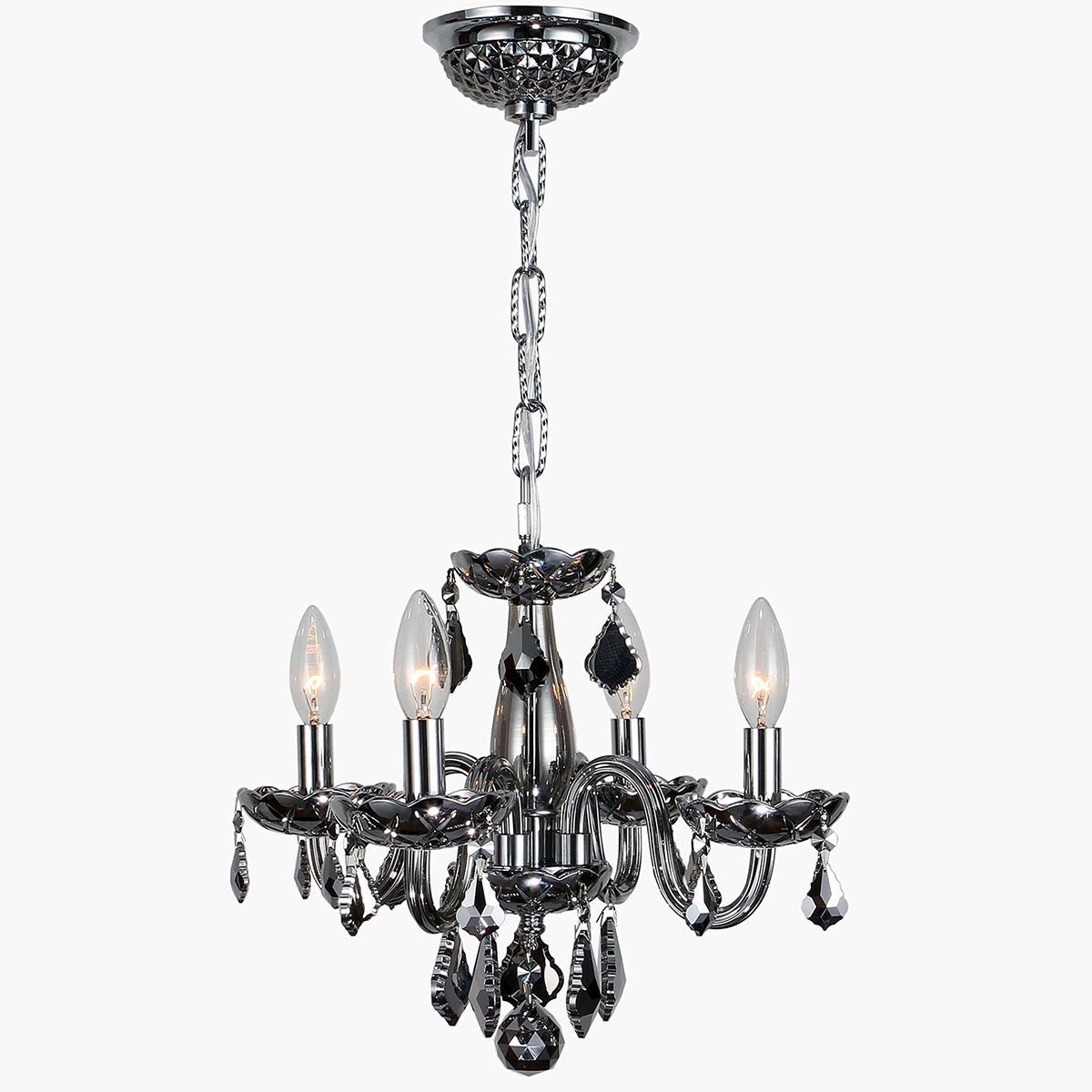 Kids room chandelier modern elegance 4 light full lead chrome brilliance lighting and chandeliers kids room chandelier modern elegance full lead chrome crystal chrome finish mini chandelier light chrome finish arubaitofo Choice Image