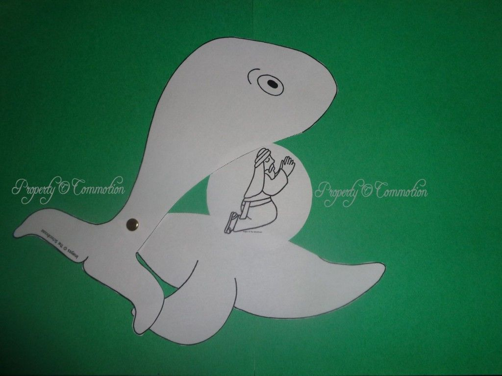 Jonah & the Whale CRAFT 1 byElaine   OT Jona Jonah   Pinterest ...