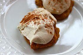 Between 3 Sisters: Pumpkin Spice Cookies With Carmel Frosting