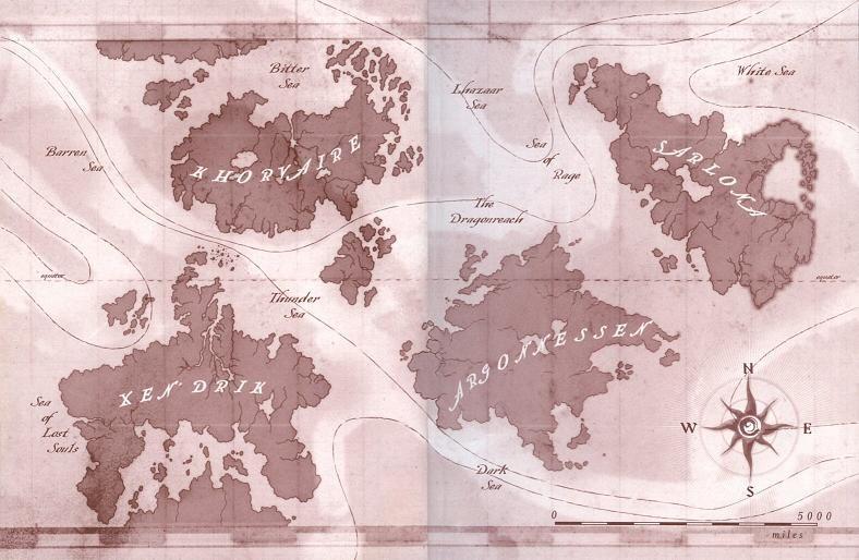 Eberron World Map