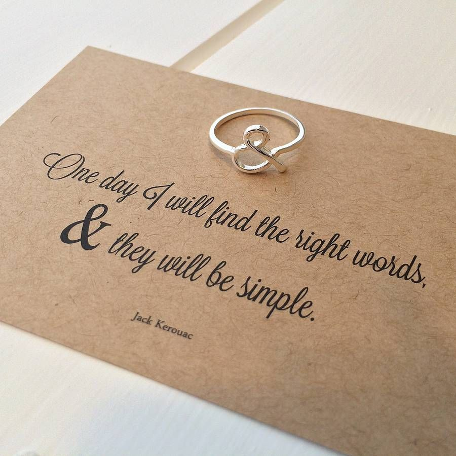 Literary Quote Ersand Ring By Emporium Notonthehighstreet: Literary Quotes For Wedding Ring At Websimilar.org