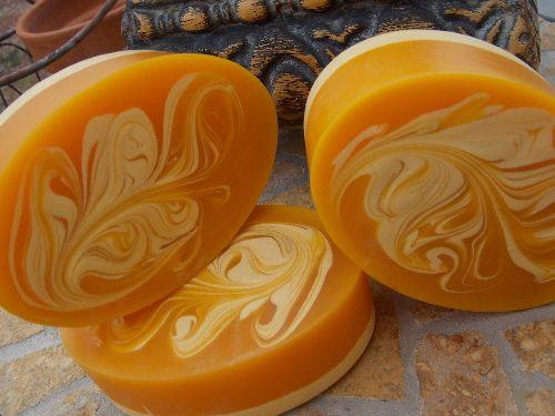 Kumquat soap oval!