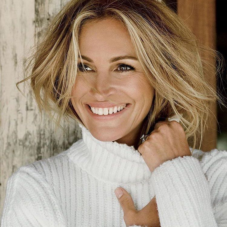 Blonde Julia Roberts Photographed By Tom Munro For Allure Magazine