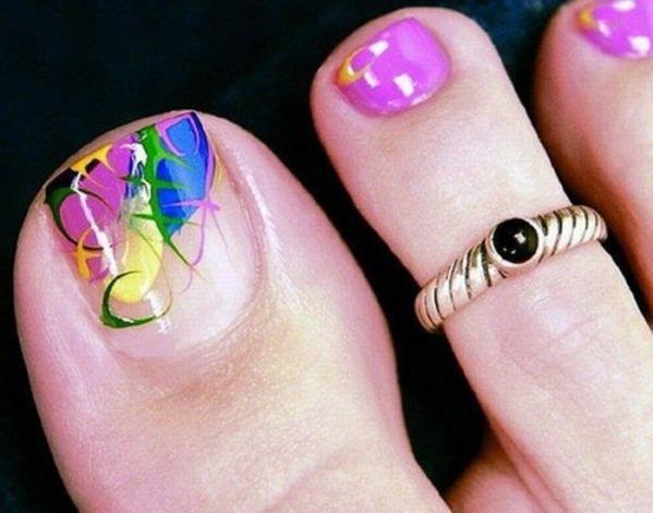 Toe Nail Designs 2013 Nail Art Pinterest Toe Nail Designs