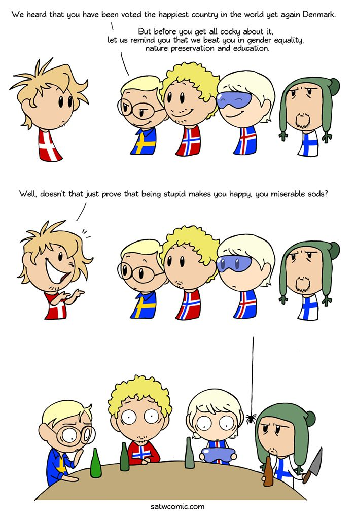 Everything Is Fine Scandinavia And The World Satw Comic Funny Comics Country Jokes