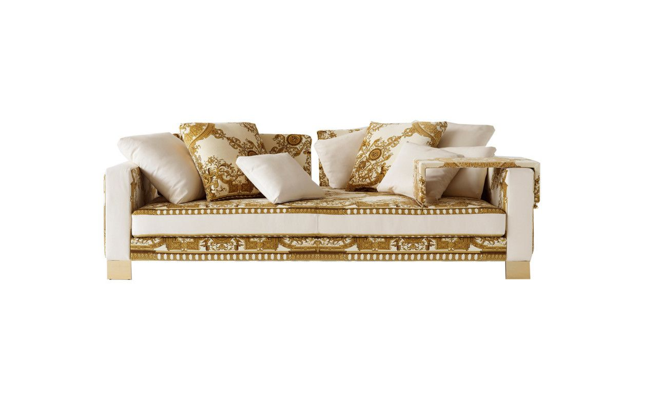 i need a gold house with versace sofas | www.elderbranch.com