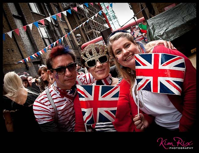 The Water Poet Diamond Jubilee Street Party in London, near Spitalfields. #Photography by Kim Rix