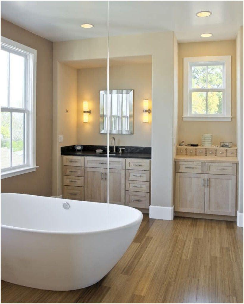 Wood floor bathrooms - 35 Master Bathrooms With Wood Floors Pictures Home Stratosphere From Wood Floor Bathrooms
