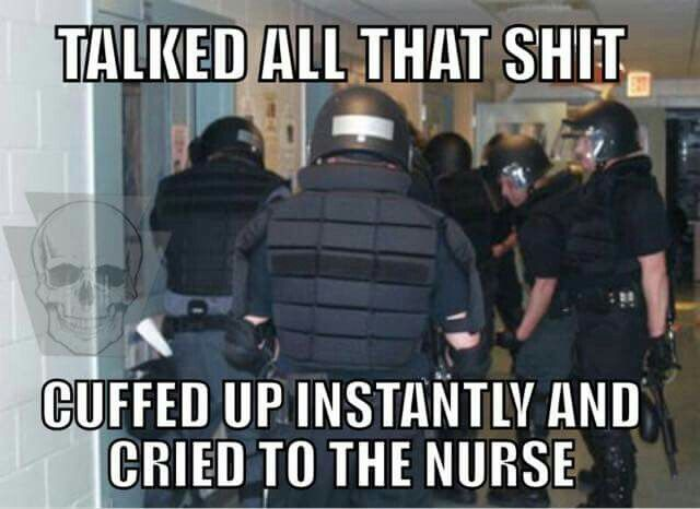 the old days of corrections division srt good times cop humor