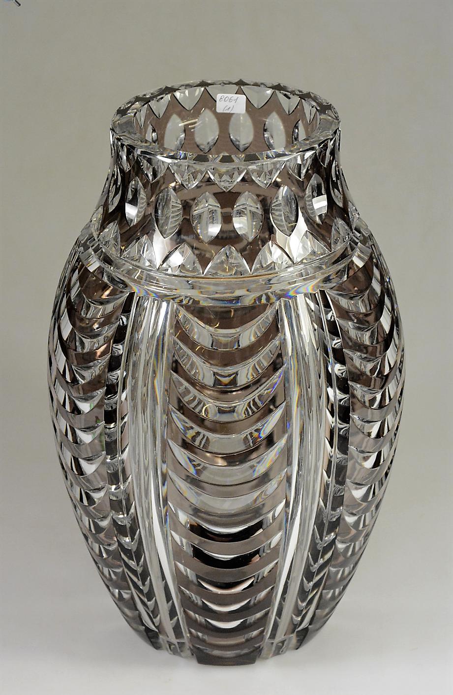Val St Lambert vase 'Pacifique' S/32   Joseph Simon   Catalogue ...