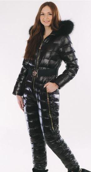 Moncler Black1 Ski Suits Daunenmantel Mode F 252 R