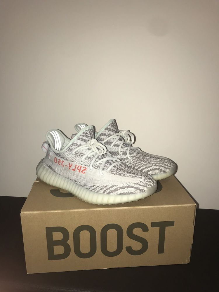 e4dd22635 yeezy boost 350 v2 blue tint size 9  fashion  clothing  shoes  accessories   mensshoes  athleticshoes (ebay link)