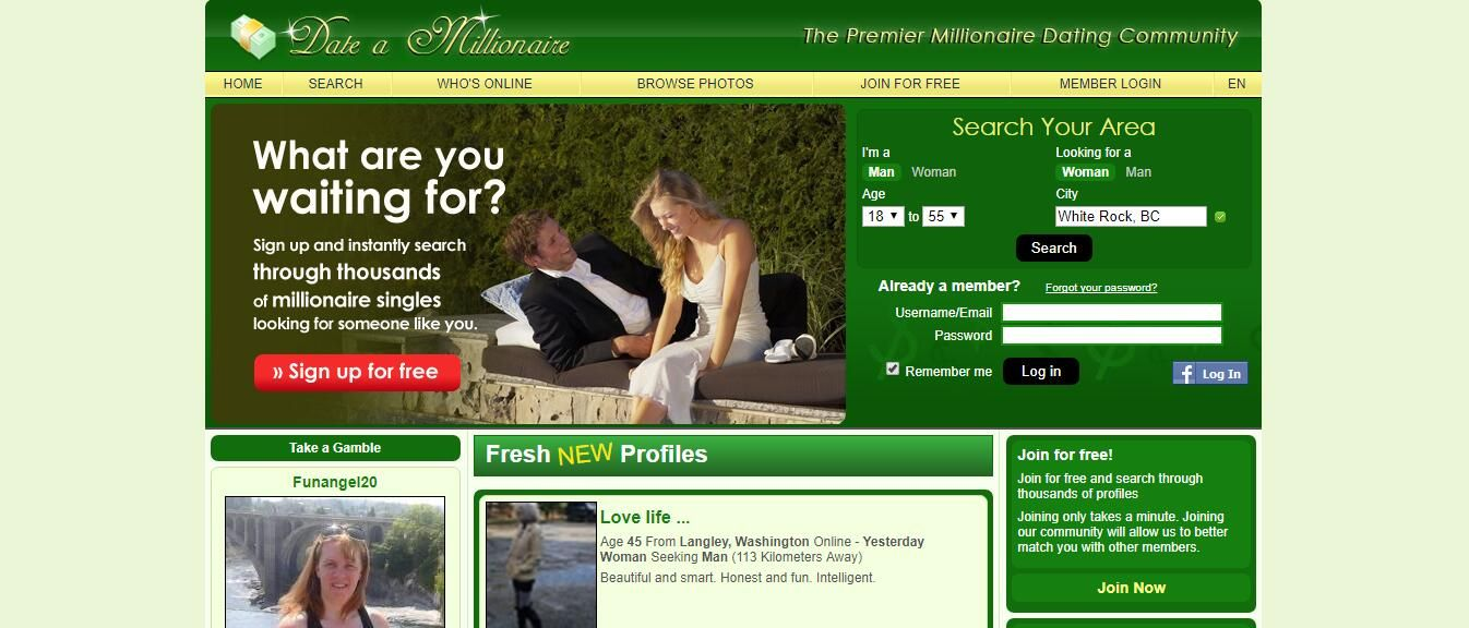 Uk millionaire dating review