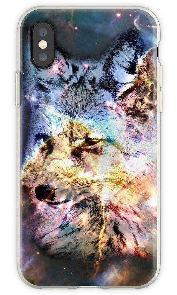 'Space Fox no4' iPhone Case by Grant Osborne Iphone